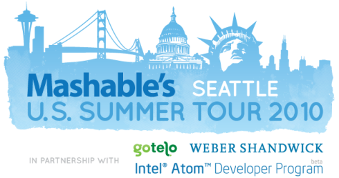 Mashable Summer Tour 2010 - Seattle