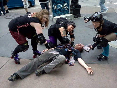 Derby girls at PAX 2011